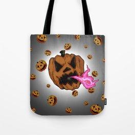 Soul Eater Jack o'lantern . Halloween Pumpkin Tote Bag