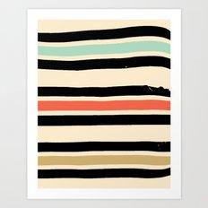 Jeremy Blake's Visit To Rockaway Beach — Matthew Korbel-Bowers Art Print