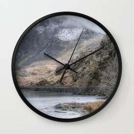 The Lake's Edge Wall Clock