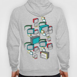 """Everyday screens """"I have a life, I do not have a TV"""" Hoody"""