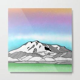 Mount Elbrus Metal Print