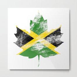 Jamaica/Canada Metal Print