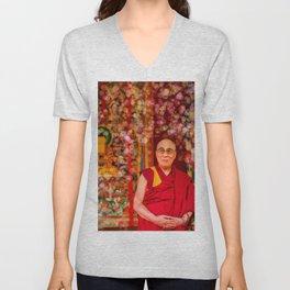 Love Dalai Lama Unisex V-Neck