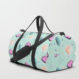 Fragmented Crystals Duffle Bag