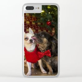 Lucky & Bow Clear iPhone Case
