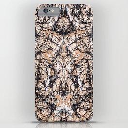 Reflecting Pollock iPhone Case