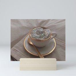 Cappuccino for anyone? Mini Art Print