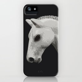 Horse with a Braided Mane iPhone Case
