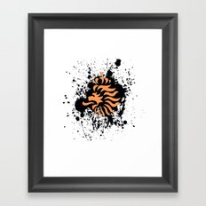knvb royal lion Framed Art Print