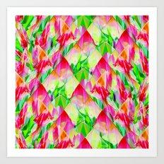 Tulip Fields #119 Art Print