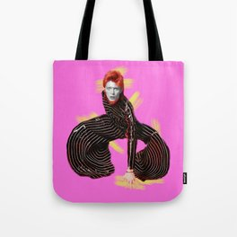 pinky bowie4 Tote Bag