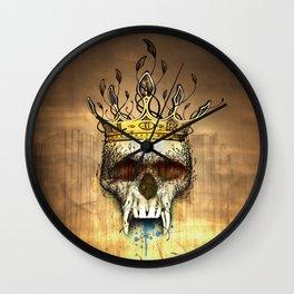 NO GLORY Wall Clock