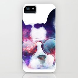 Space Frenchie  iPhone Case