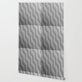 Gradient Gray Diamonds Geometric Shapes Wallpaper