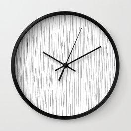 The rain Wall Clock