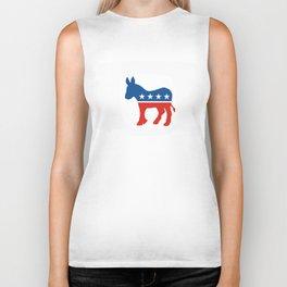 democrat party Biker Tank