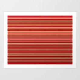 Gold Line Tapestry Art Print