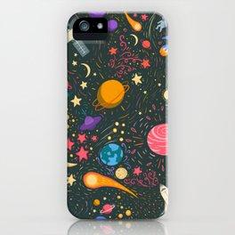 Space adventure iPhone Case