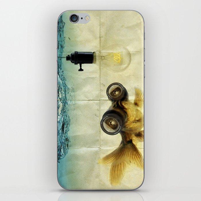Fish Eyed Lens 03 iPhone Skin