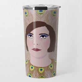 Happy New Year, This year I want to be a beakock Travel Mug