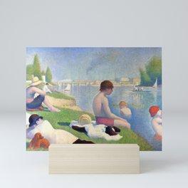 "Georges Seurat ""Bathers at Asnières"" Mini Art Print"