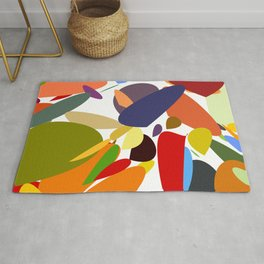 Colorful pebbles Rug