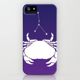 sign. cancer iPhone Case