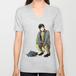 Jem and Church Unisex V-Neck