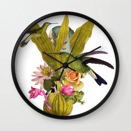 Magic Garden VII Wall Clock