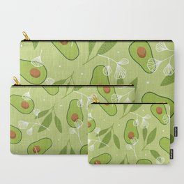 Happy Avocados Carry-All Pouch