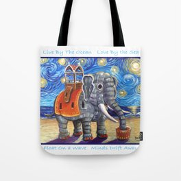 Starry Lu Tote Bag