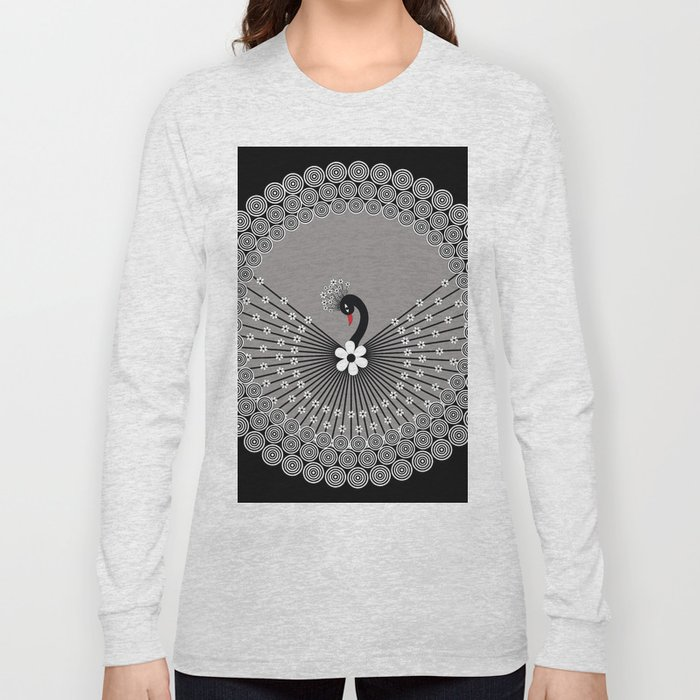 Peacock 3 Long Sleeve T-shirt