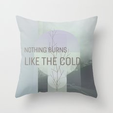Nothing burns #everyweek 3.2017 Throw Pillow