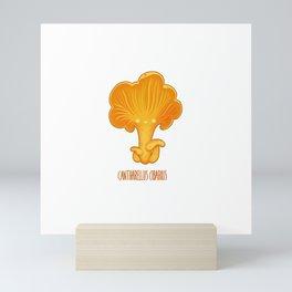 Cantharellus Cibarius Mini Art Print