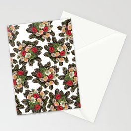 Crystal Bloom Stationery Cards
