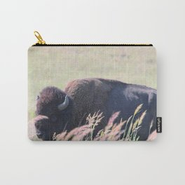 """Bearded Bull"" Carry-All Pouch"