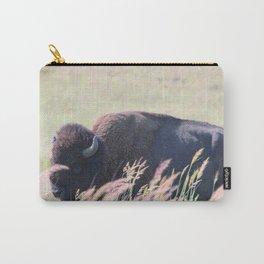 """Bearded Bull"" Carry-All Pouch"