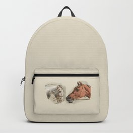 Two Horses Backpack