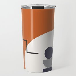 Abstract Shapes - Autumn Travel Mug