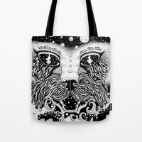 universe Tote Bags featuring UNIVERSE by • PASXALY •