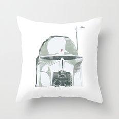 Ralph McQuarrie concept Boba Fett Throw Pillow