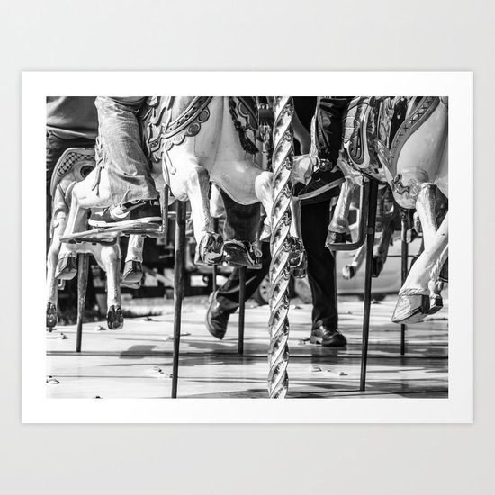 Dancing with Hooves Art Print