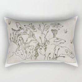 The Greyhound & The Moth Rectangular Pillow