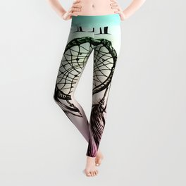 11:11 Eleven Eleven Spiritual Dream Catcher Leggings