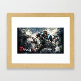 Gears Od War 06 Framed Art Print