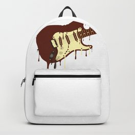 Melting Chocolate Guitar Backpack