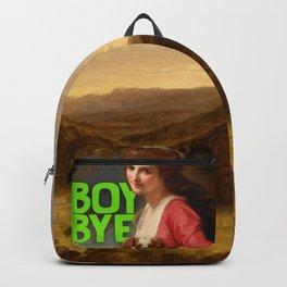 Boy Bye Backpack