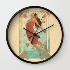 Feel The Music Wall Clock
