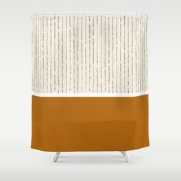 Toffee Shower Curtain