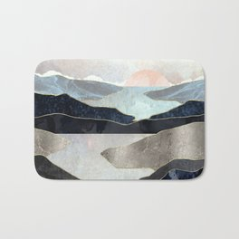 Blue Mountain Lake Bath Mat